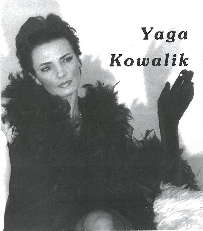 Yaga – la seule artiste qui interprete actuellement les chansons de Barbara dans le monde artistique polonais Yaga chante Barbara